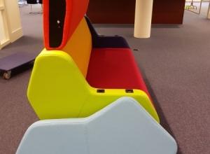 Akoestisch fauteuil