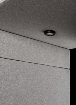 Detailfoto ventilatiesysteem belcel