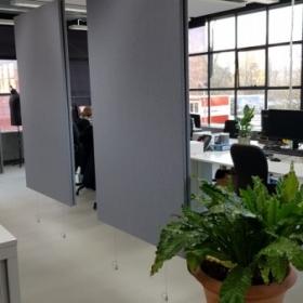 baffle kantoor akoestiek verbeteren