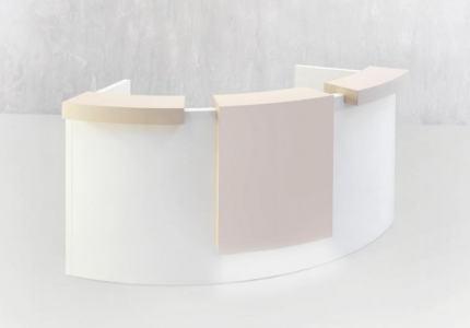 Ontvangstbalie entreemeubel c-vorm counter
