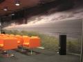 Wandbedekking theaterzaal