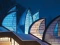 Decoratieve verlichting glas vensters ramen