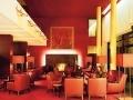 Decoratieve verlichting hotel foyer lobby