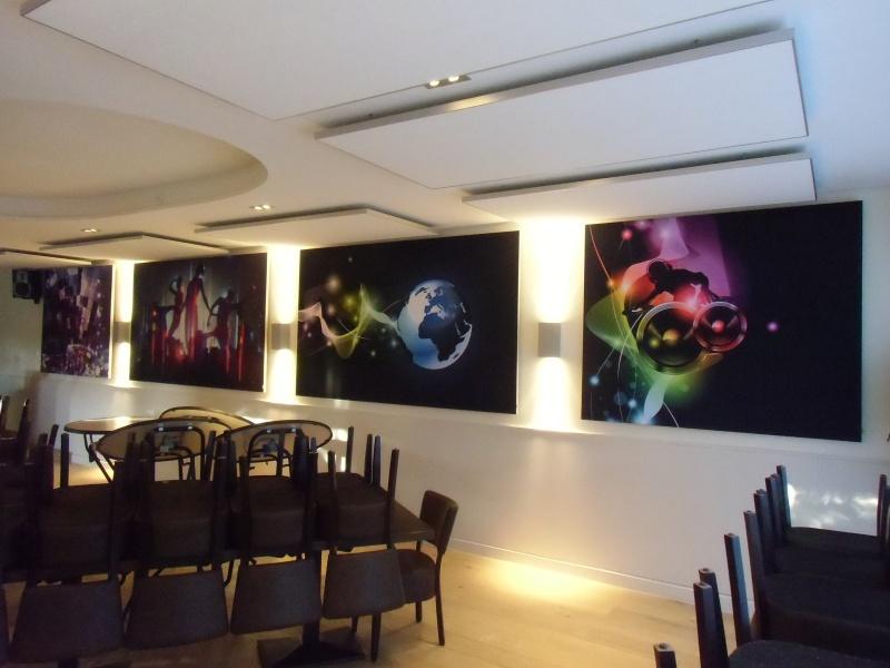 Akoestiekverbetering horeca - Restaurant decoratie ...