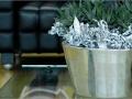 Gepolijst aluminium plantenbakken