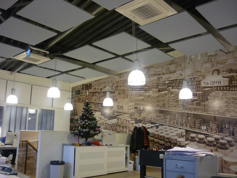 Akoestiek verbeteren kantoor - Decoreren van een professioneel kantoor ...