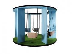 Modulaire zitbank swing