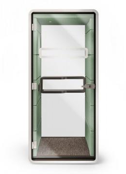 phone booth groen