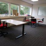 Inrichting kantoren en trainingsruimte